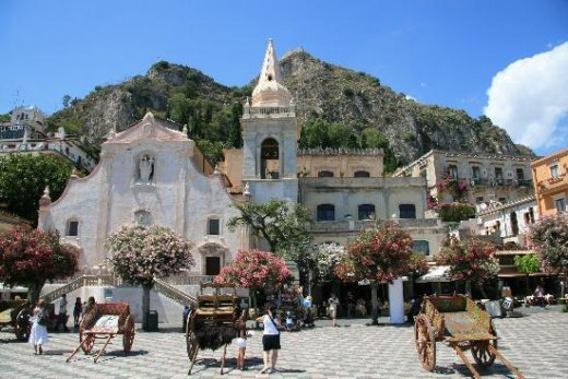 "This photo of <a href=""http://www.tripadvisor.ie/Tourism-g187892-Taormina_Province_of_Messina_Sicily-Vacations.html"">Taormina</a> is courtesy of TripAdvisor"